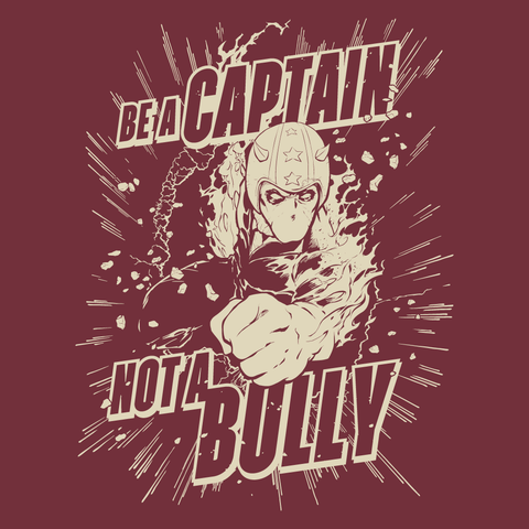 Be a Captain (burgundy)