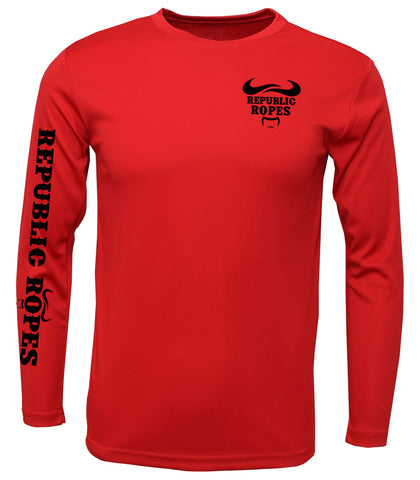T-Shirt Long Sleeve (Red)