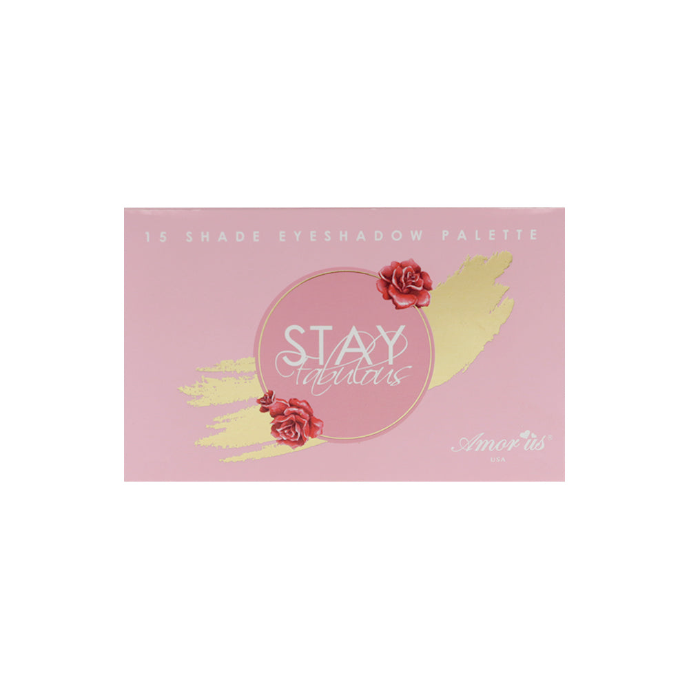 Amor Us Stay Fabulous 15-color Eyeshadow Palette