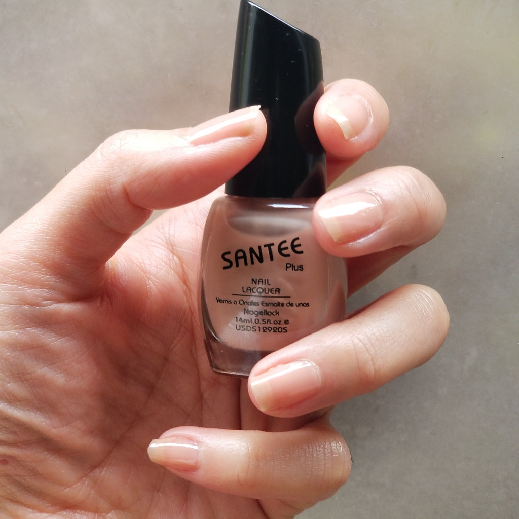 Santee Nail Lacquer - Soft Brown
