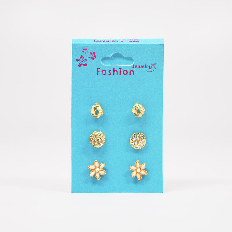 3-Pair Earring Set (#2514)