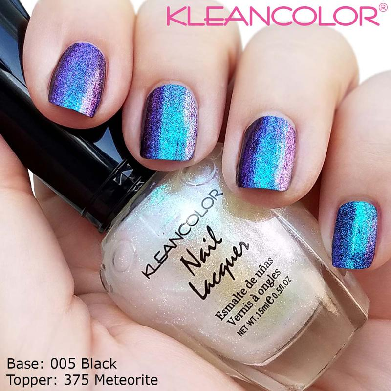 Kleancolor Nail Lacquer-Prismatic Topper - 375 Meteorite | Always Mei