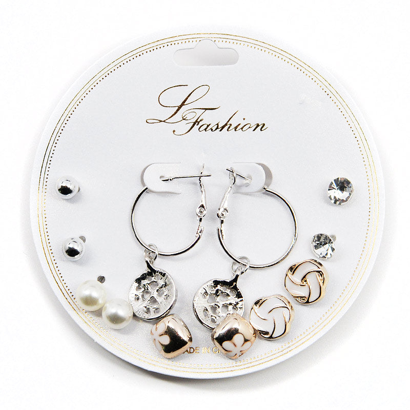 Le Fashion 6-Pair Earring Set (2538)