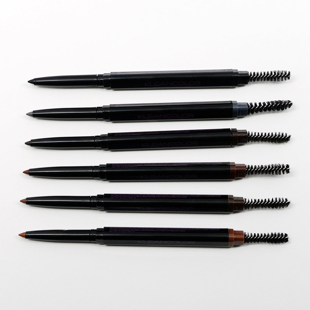 Kleancolor Retractable Eyebrow Pencil (6 Colors)