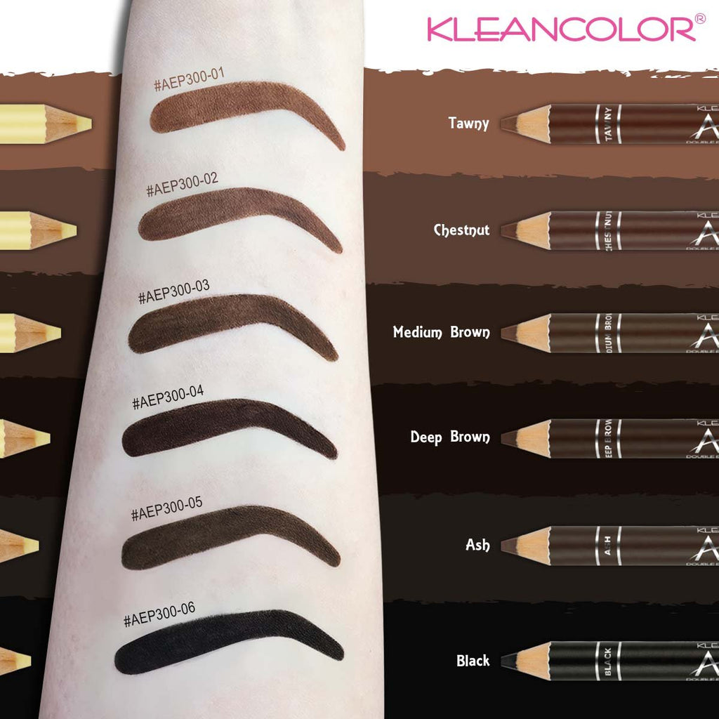 Kleancolor Arch Ally Double Ended Brow Pencil