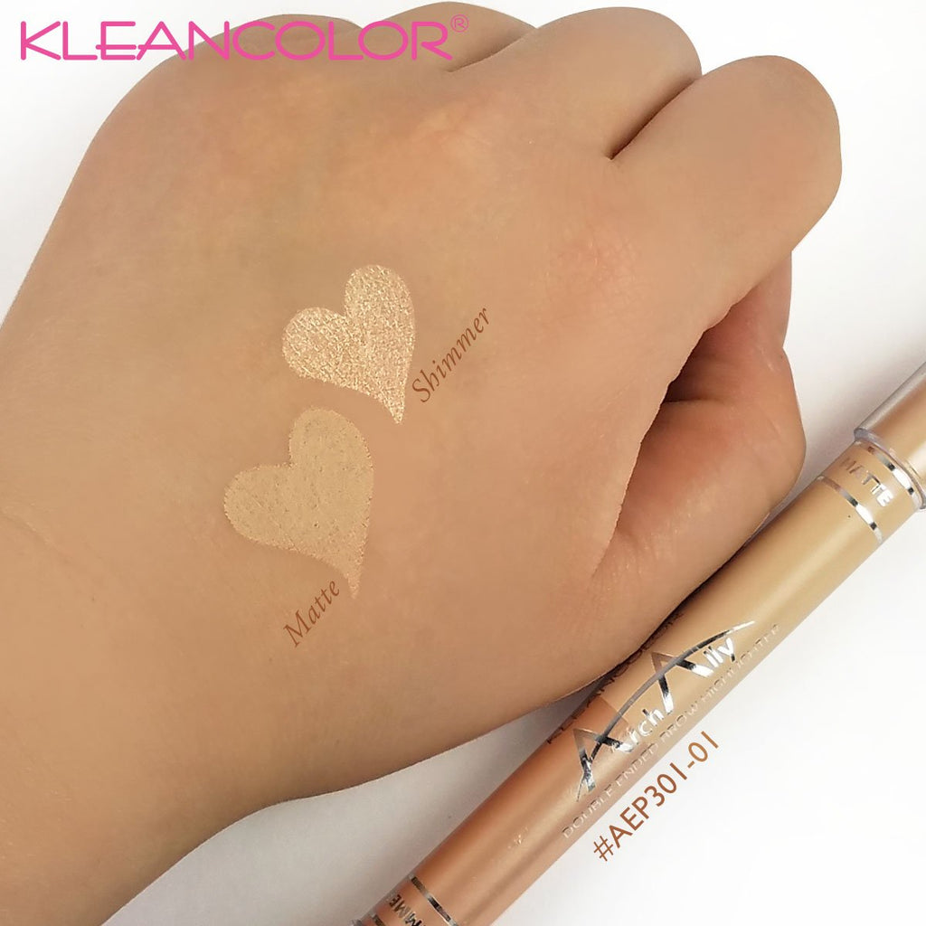 Kleancolor Arch Ally Double Ended Brow Highlighter