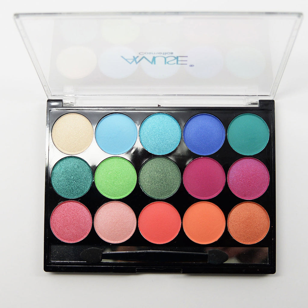 Amuse 15-Color Eyeshadow Palette - Under The Sea (FK9586-1)