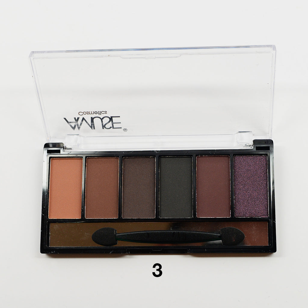 Amuse 6-Color Eyeshadow Palette