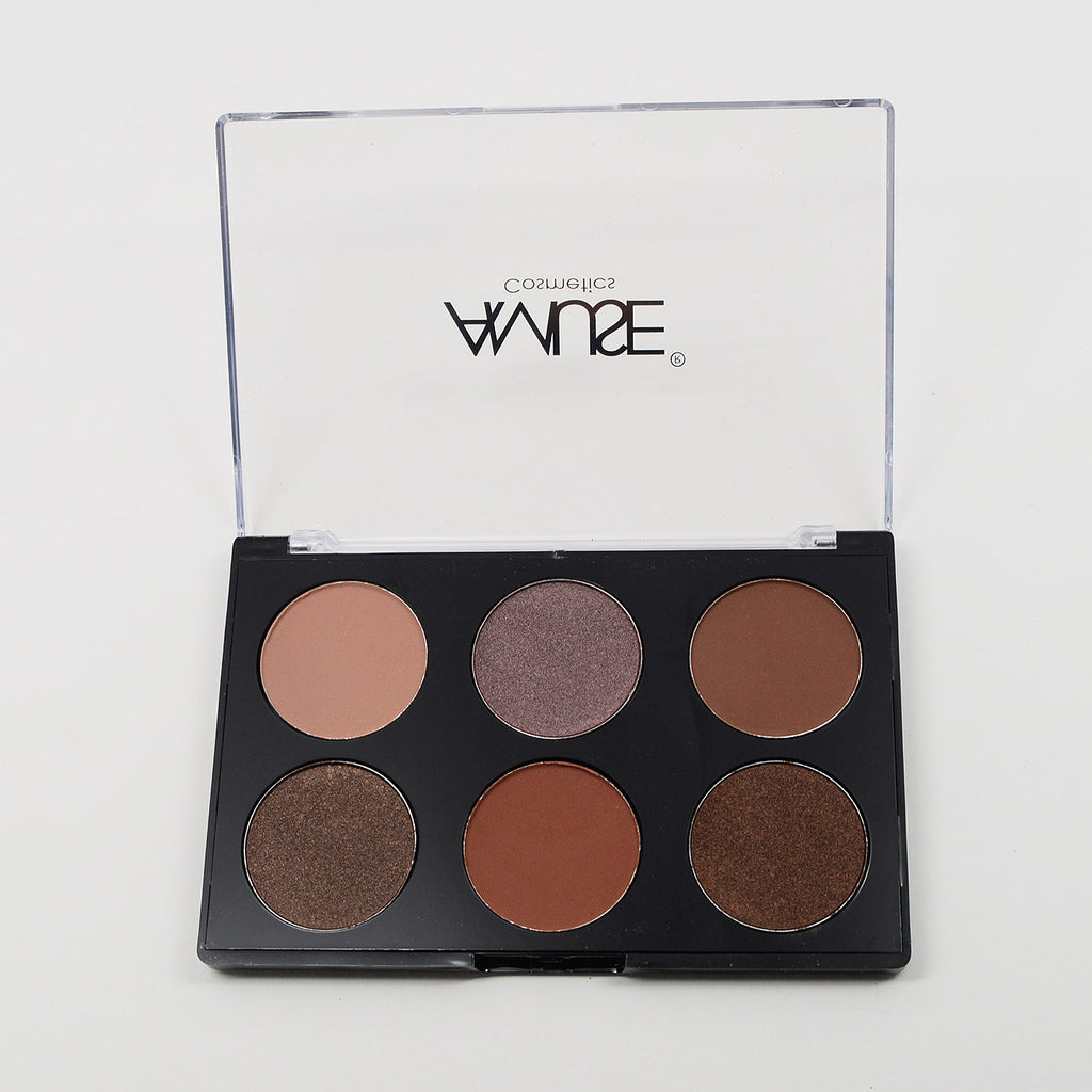 Amuse 6-Color Eyeshadow Palette (FK9607)