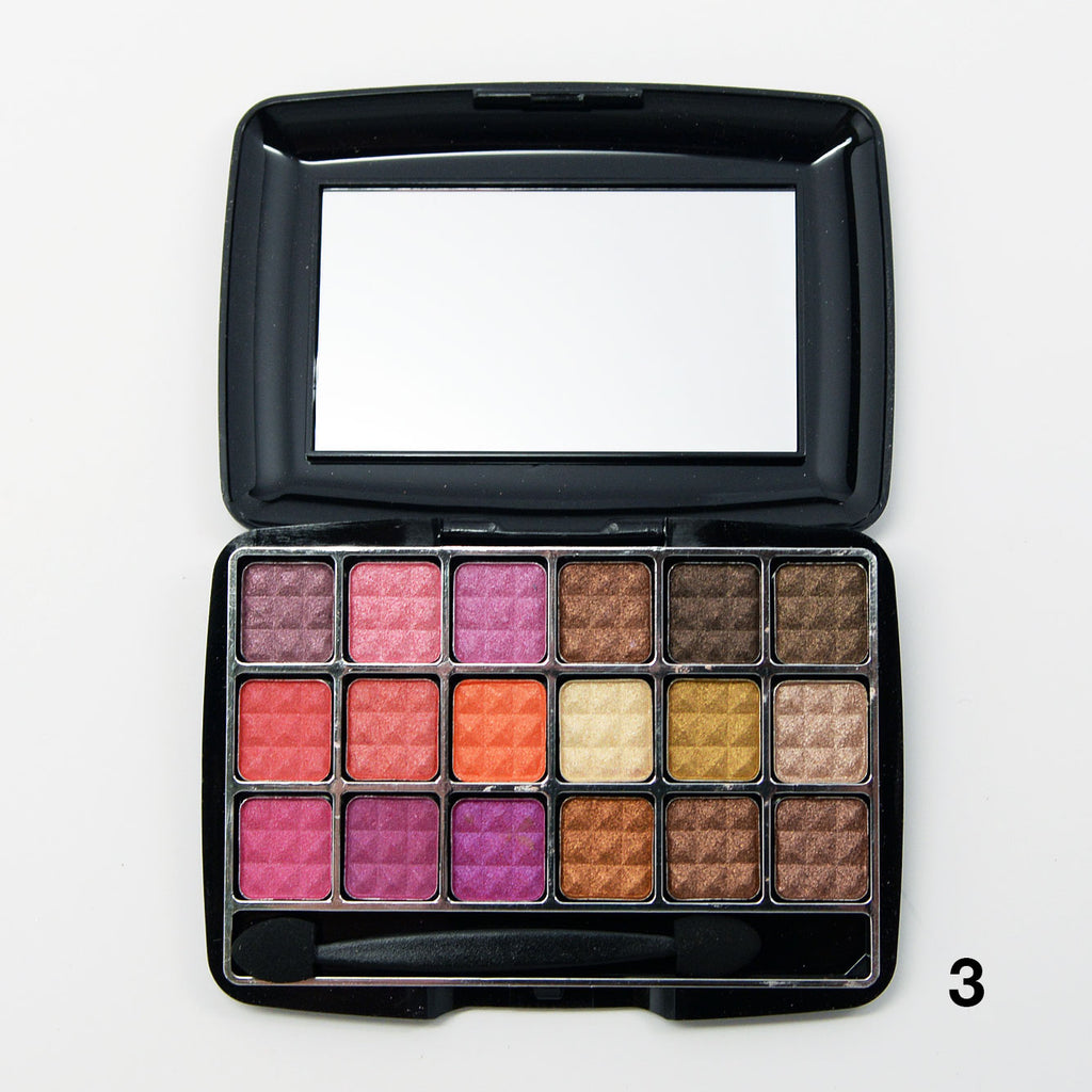 Amuse 18-Color Shimmering Eyeshadow Palettes (FK9622)