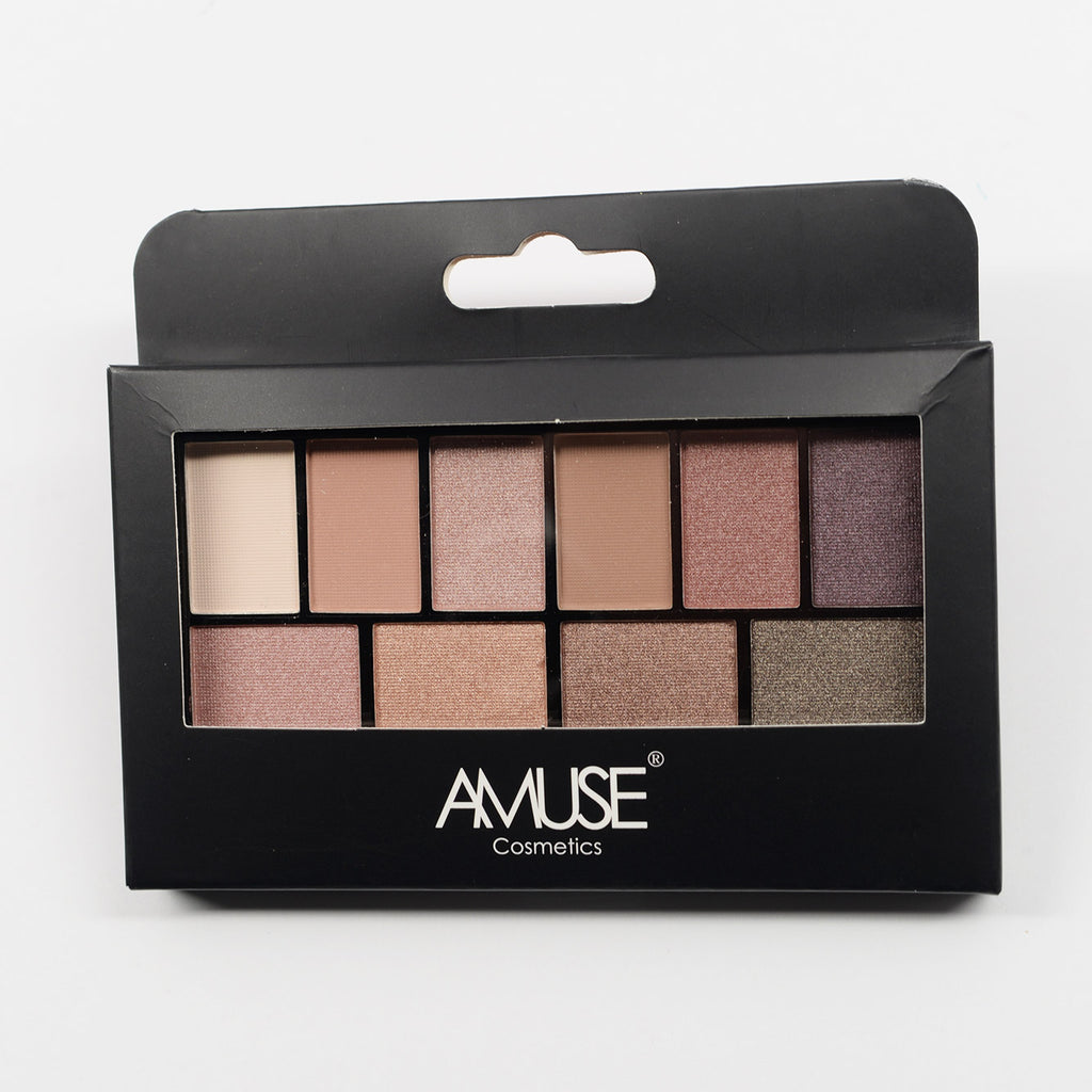 Amuse 10-Color Eyeshadow Palette