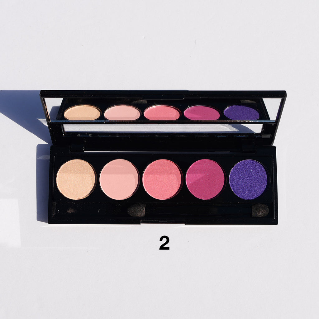 Amuse 5-Color Eyeshadow Palette (4 Versions)
