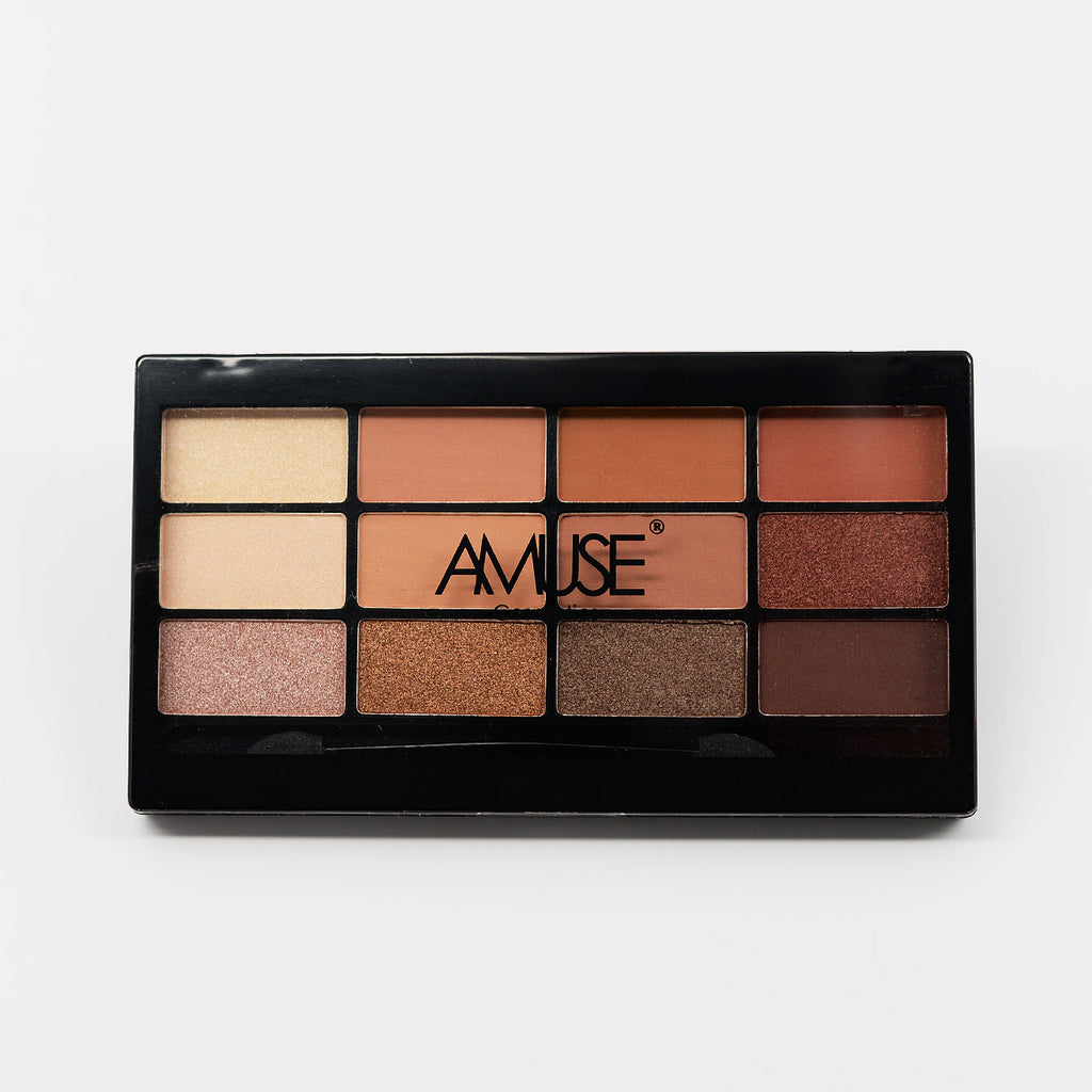 Amuse 12-Color Eyeshadow Palette (FK9645)