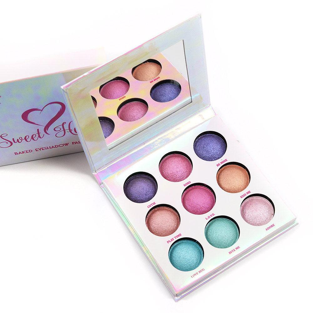 Amuse Sweet Heart Baked Eyeshadow Palette