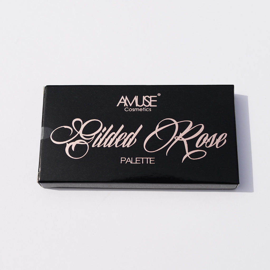 Amuse Gilded Rose Palette Eyeshadow (Shimmers and Mattes)