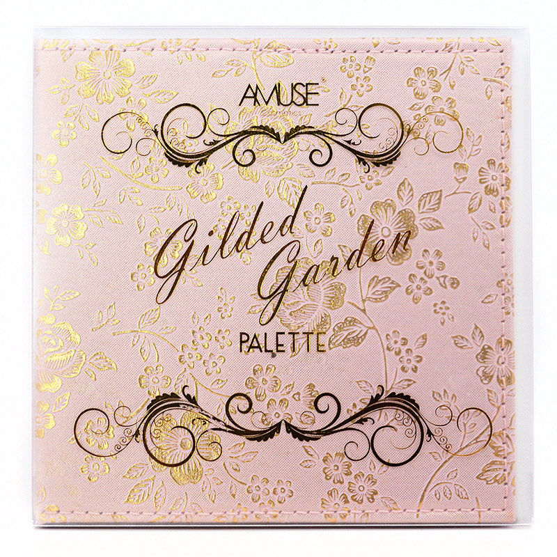 Amuse Gilded Garden Palette (Eyeshadow, Blush, Bronzer, Highlight)