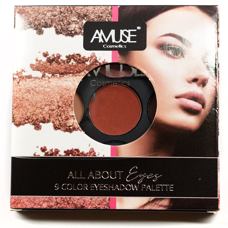 Amuse All About Eyes 9 Color Eyeshadow Palette