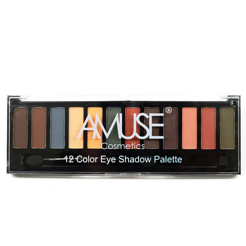 Amuse 12-Color Eyeshadow Palette (FK9672)