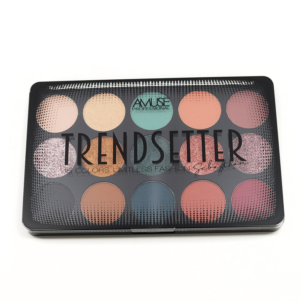 Amuse Professional Trendsetter 15-Color Eyeshadow Palette