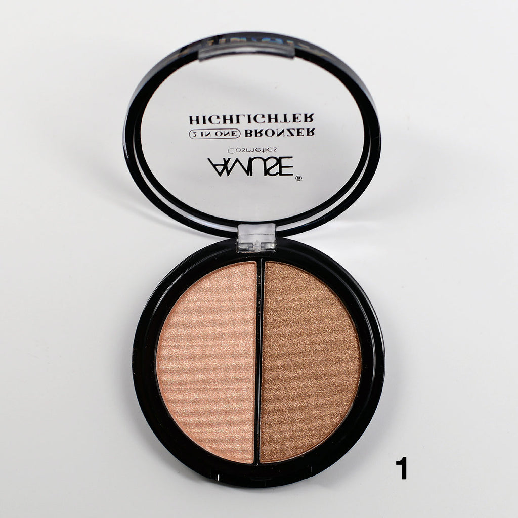 Amuse 2 In 1 Bronzer Highlighter