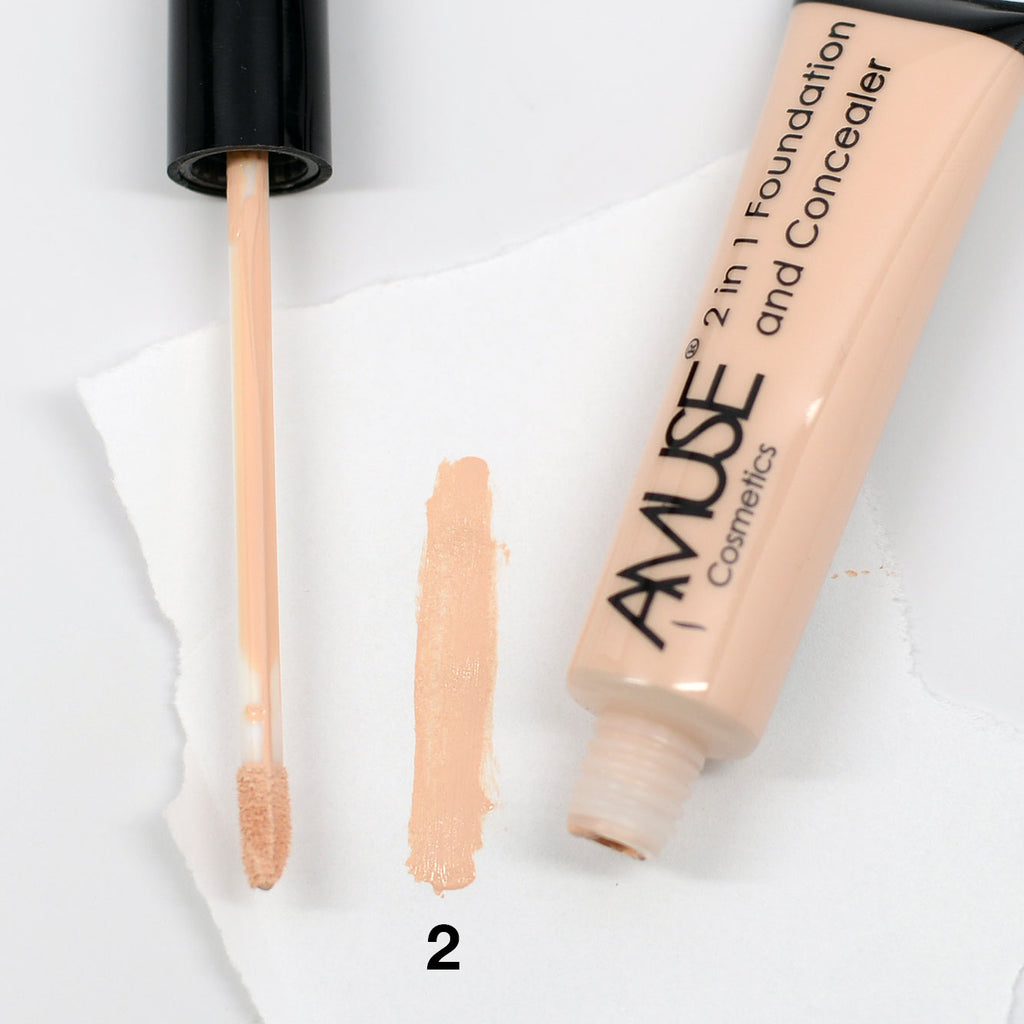 Amuse 2 In 1 Foundation and Concealer