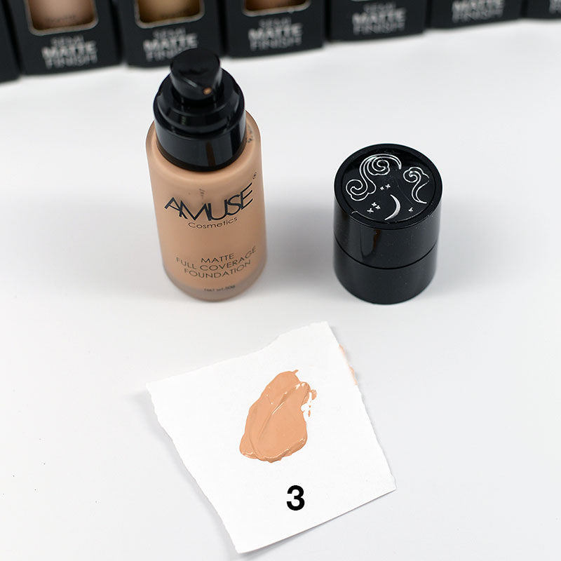 Amuse Full Coverage Foundation Semi-Matte Finish