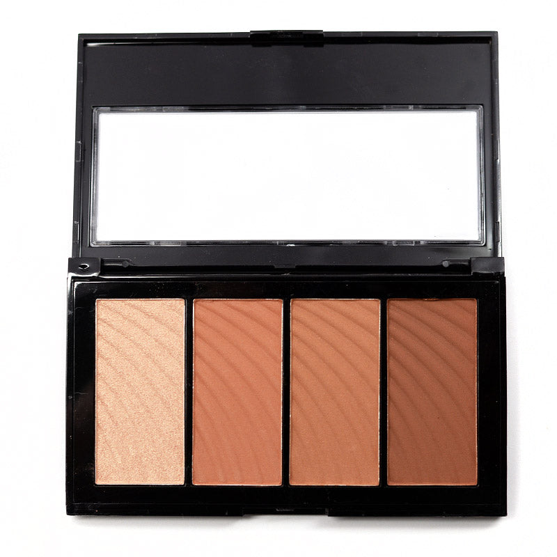Amuse Sun Bronze Color And Highlighting Kit Palette