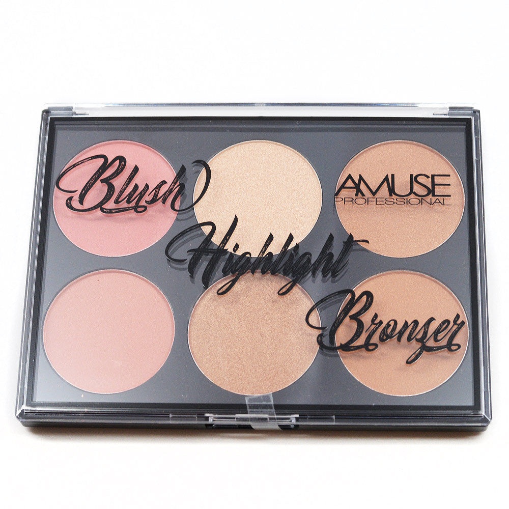 Amuse Professional Blush Highlight Bronzer (KL225)