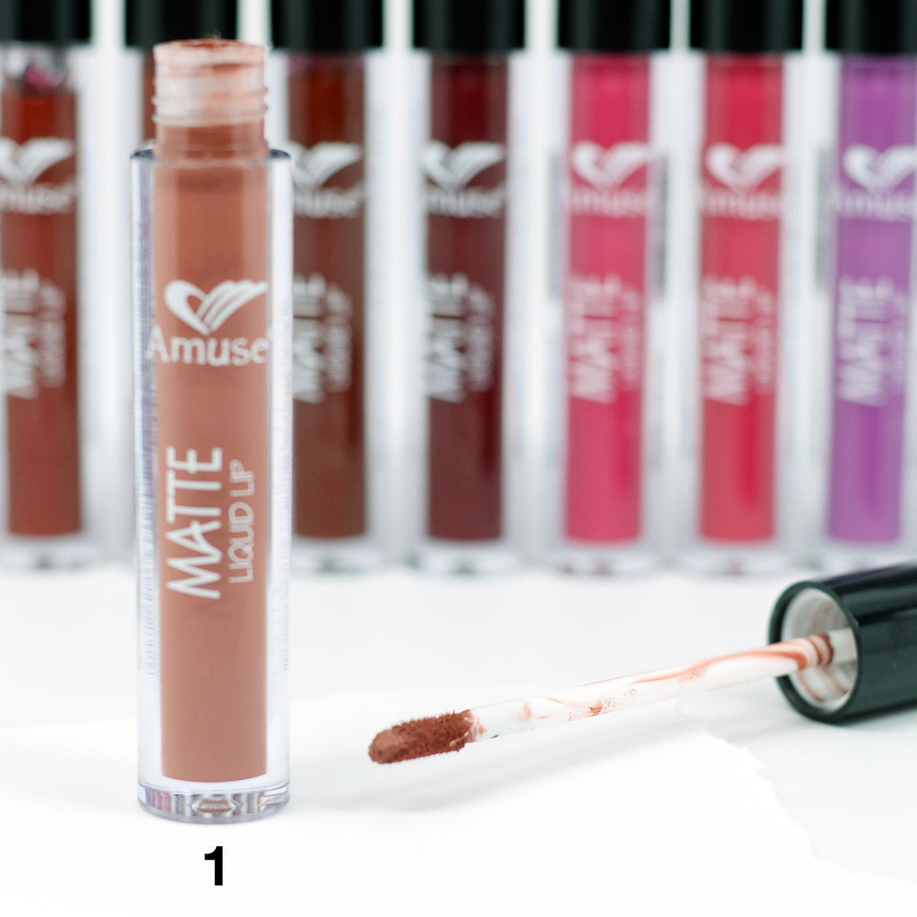 Amuse Matte Liquid Lip Color