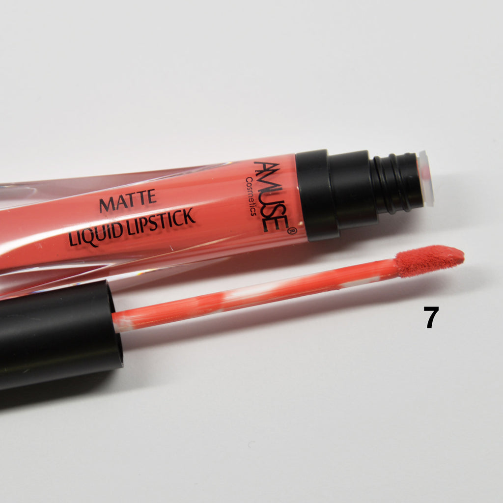 Amuse Matte Liquid Lipstick - LIP2096 (1-12)