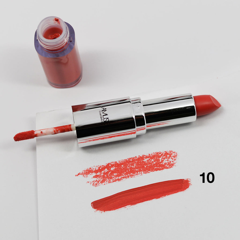 Amuse Long Lasting Duo Matte Lipstick & Liquid Lip Gloss