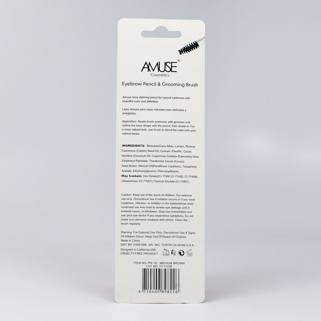 Amuse Eyebrow Pencil - Medium Brown