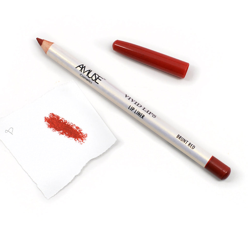 Amuse Vivid Lips Lipliner (Burnt Red)