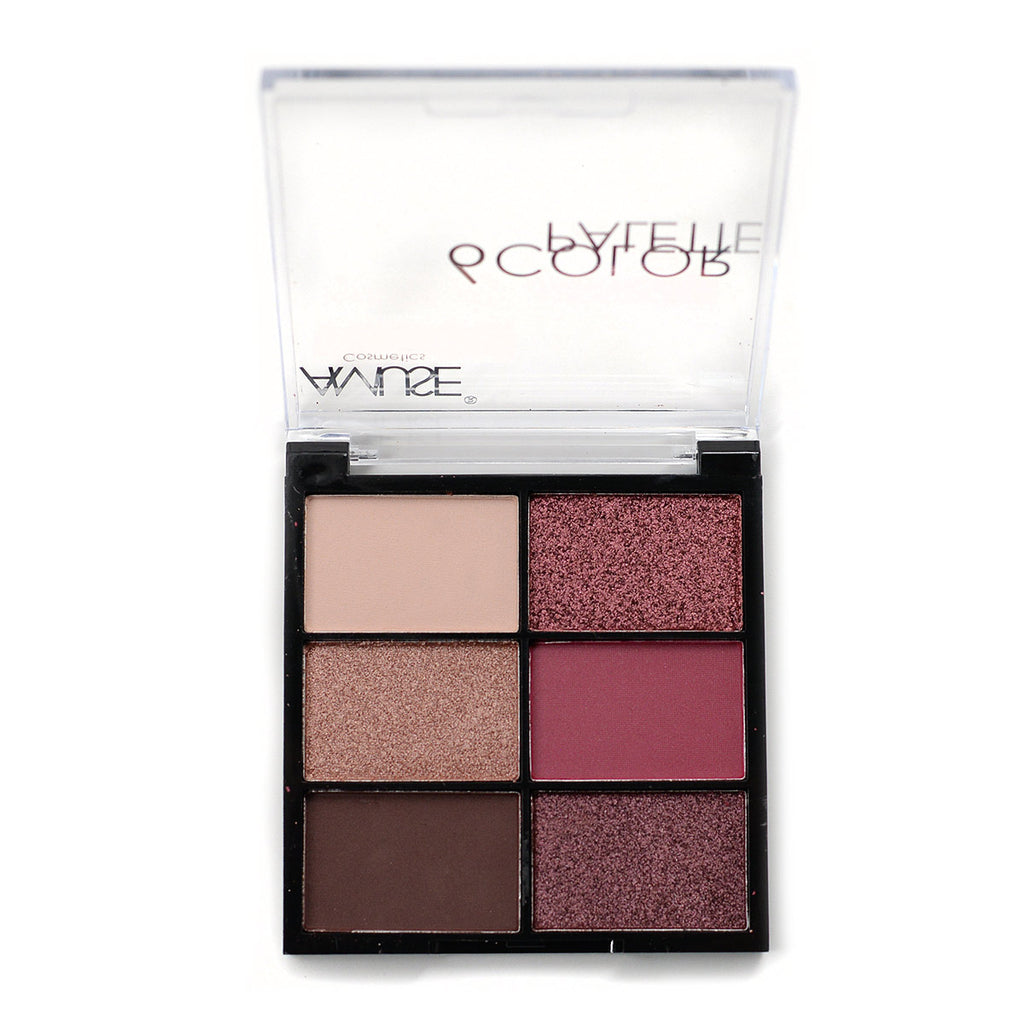Amuse 6-Color Eyeshadow Palette (FK9619MIX-N-1)