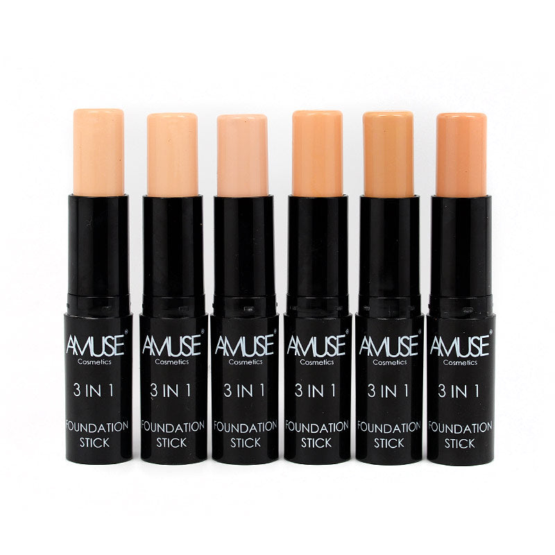 Amuse 3-in-1 Foundation Stick