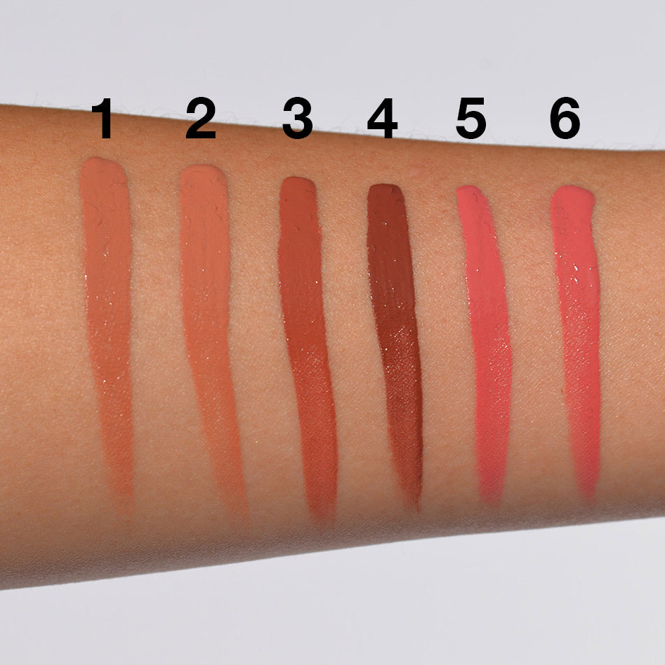 Amuse Long Lasting Lip Gloss (12 Colors, LIP2041D)