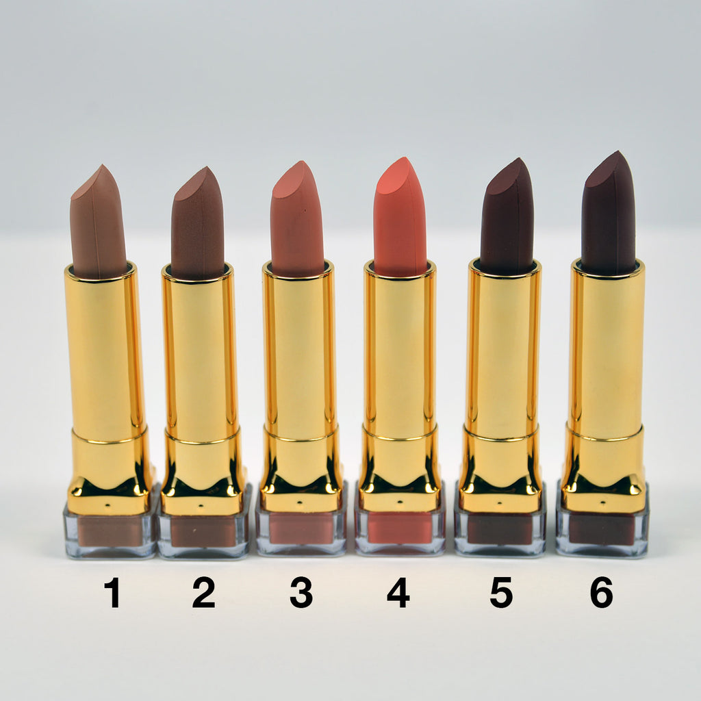 Amuse Gold Case Matte Lipstick (LIP7300)