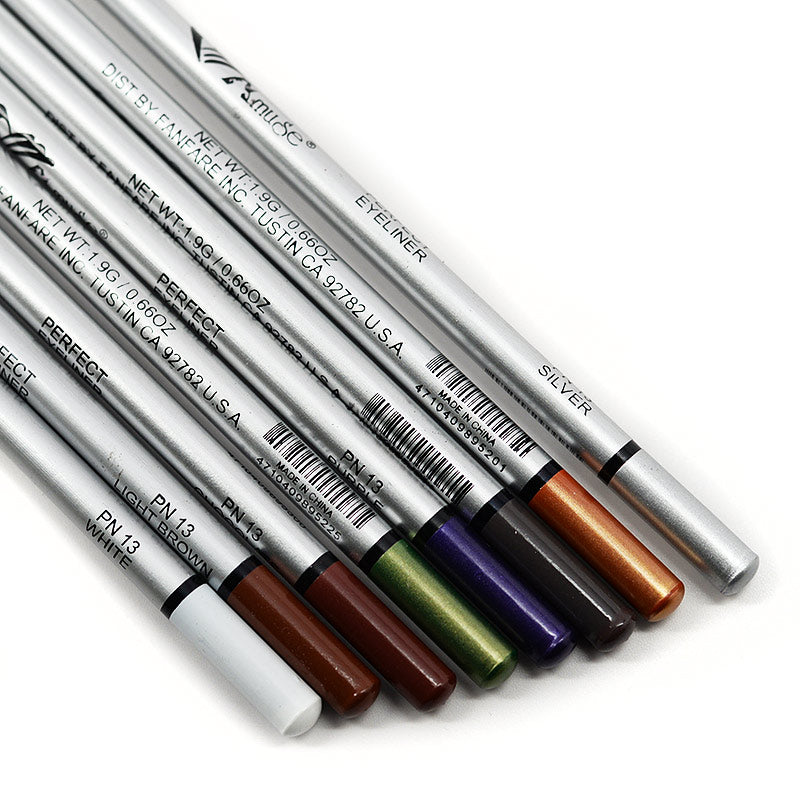 Amuse Perfect Eyeliner Long Eye Pencils (Set of 8)