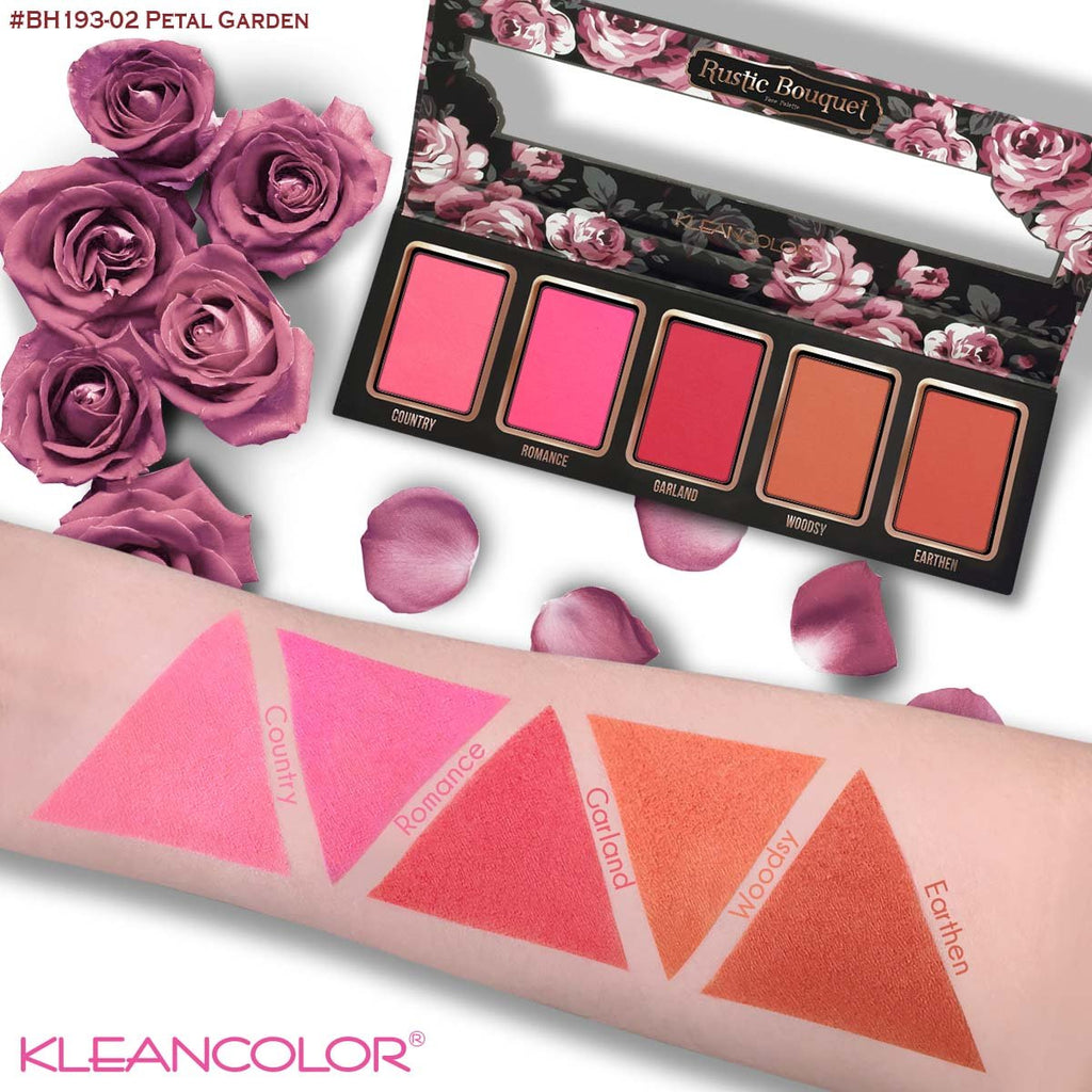 Kleancolor Rustic Bouquet Blush Palette