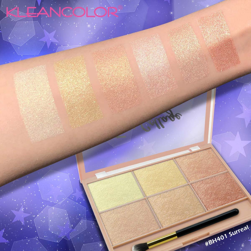 Kleancolor Face Collage Glow Face Palette - Surreal (BH401)
