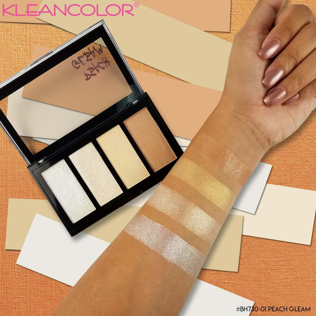 Kleancolor 3D Highlighter Palette
