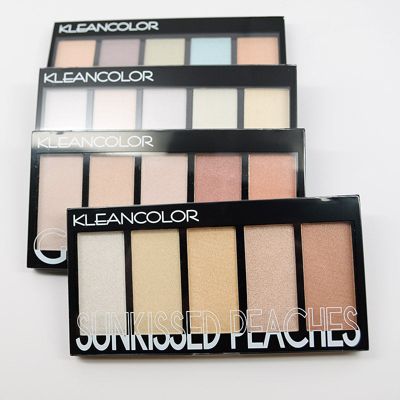 Kleancolor 5 Color Prismatic Highlighter Palette