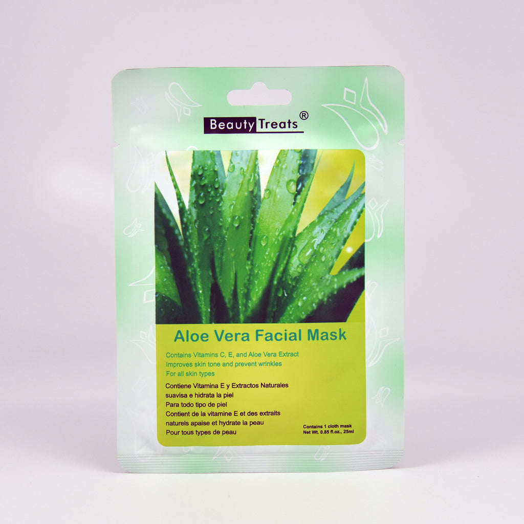 Beauty Treats Aloe Vera Facial Mask