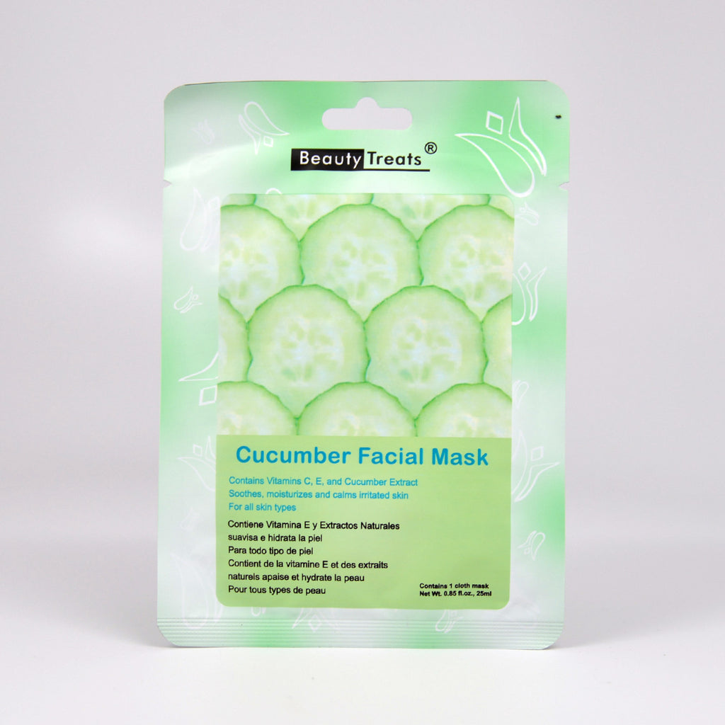 Beauty Treats Cucumber Facial Mask