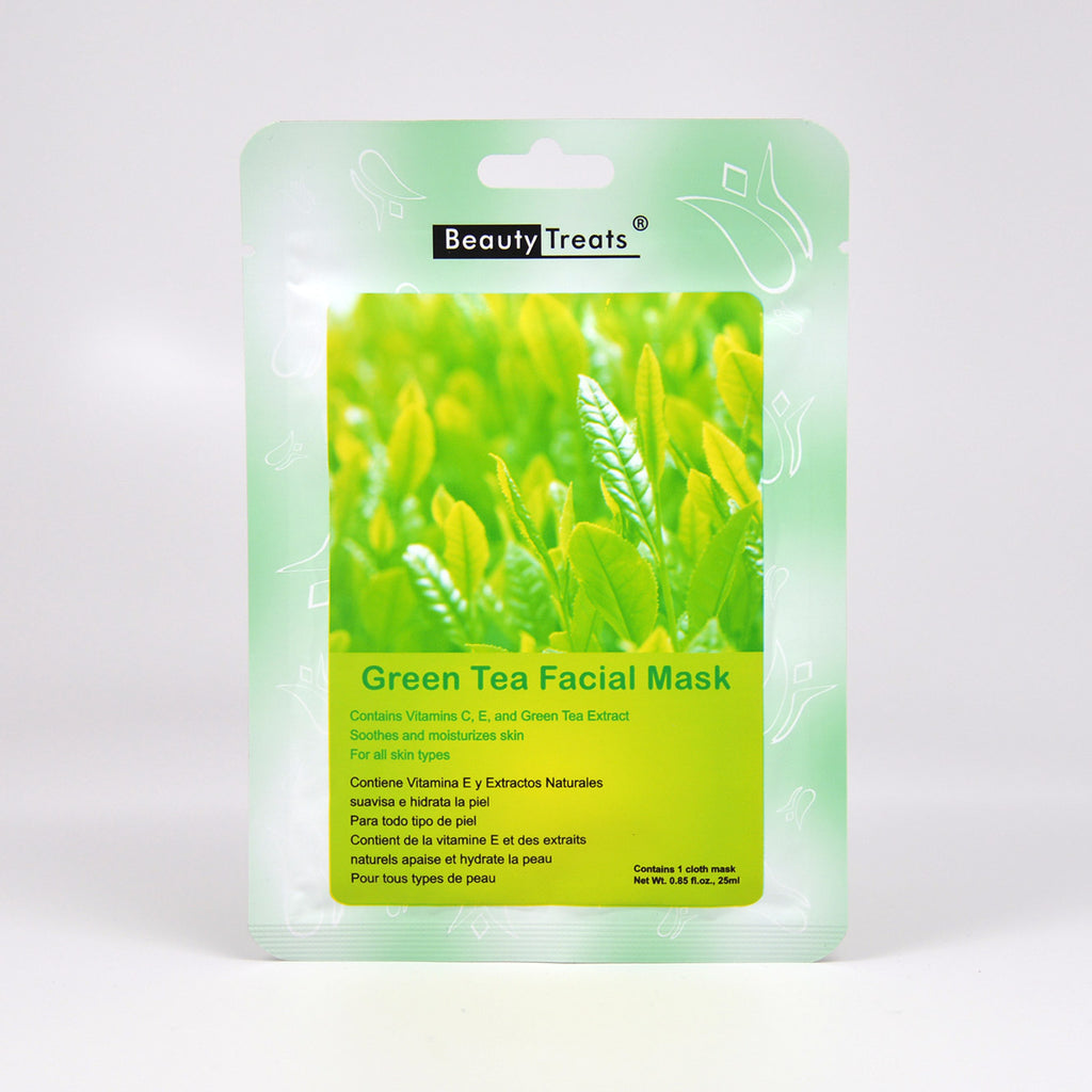Beauty Treats Green Tea Facial Mask