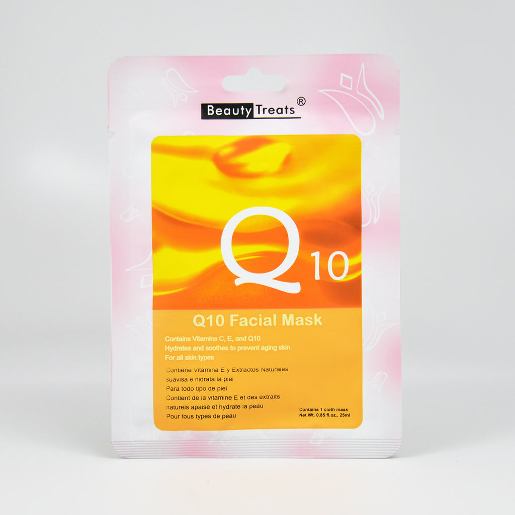 Beauty Treats Q10 Vitamin C Facial Mask