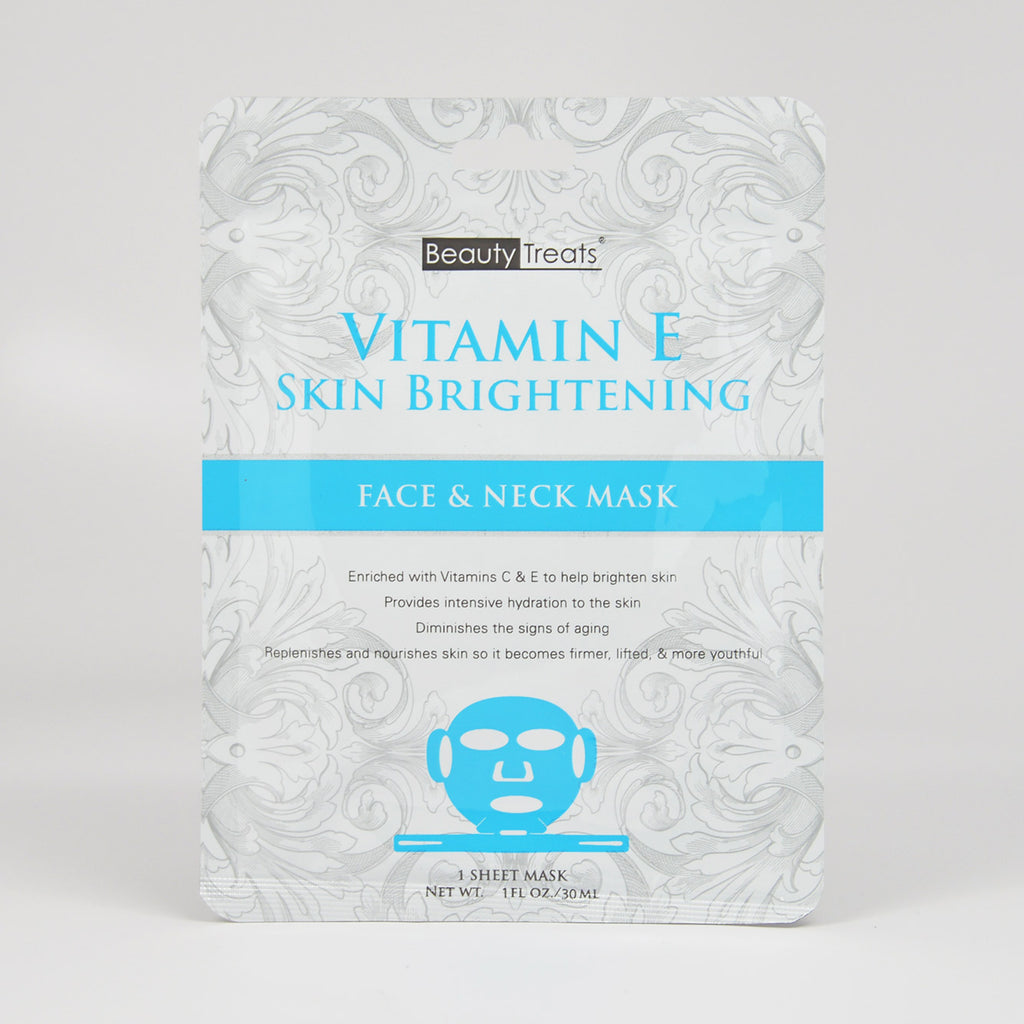 Beauty Treats Vitamin E - Face and Neck Mask