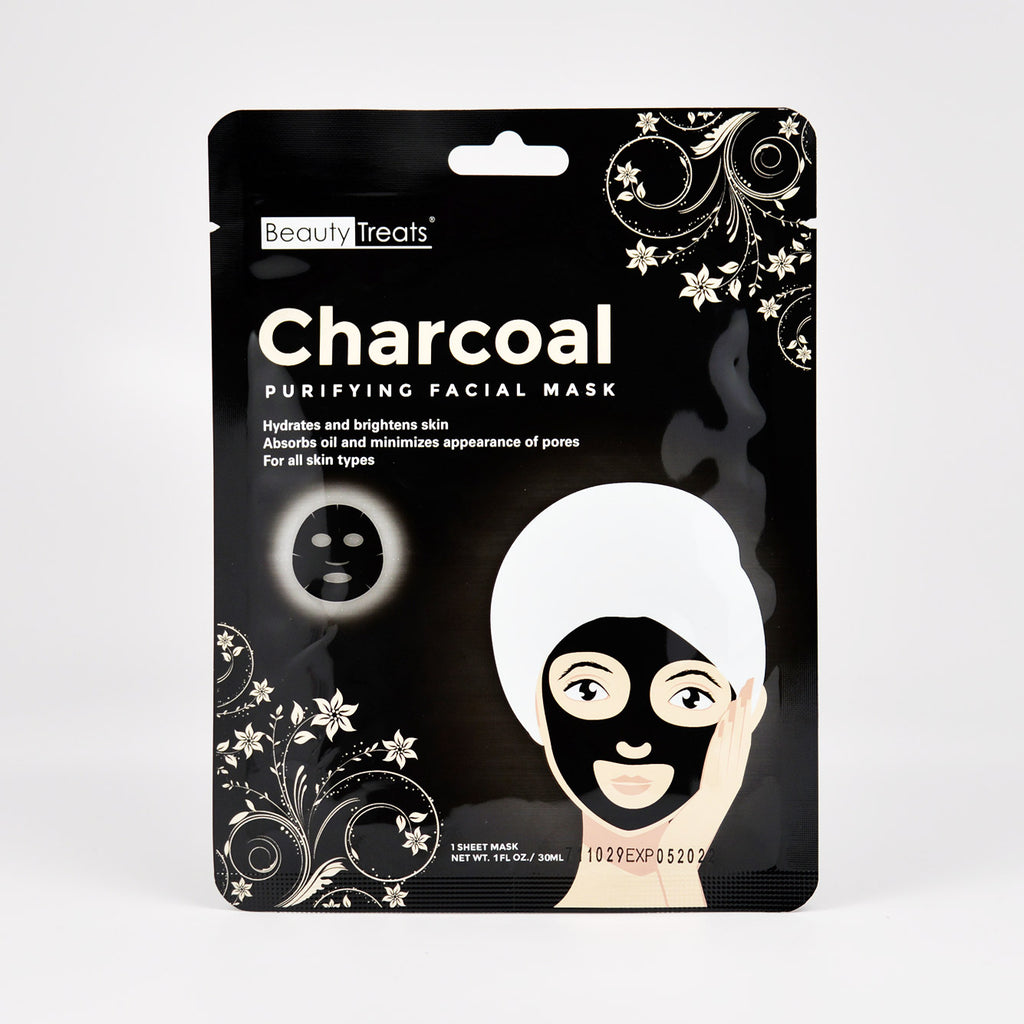 Beauty Treats Charcoal Purifying Facial Mask