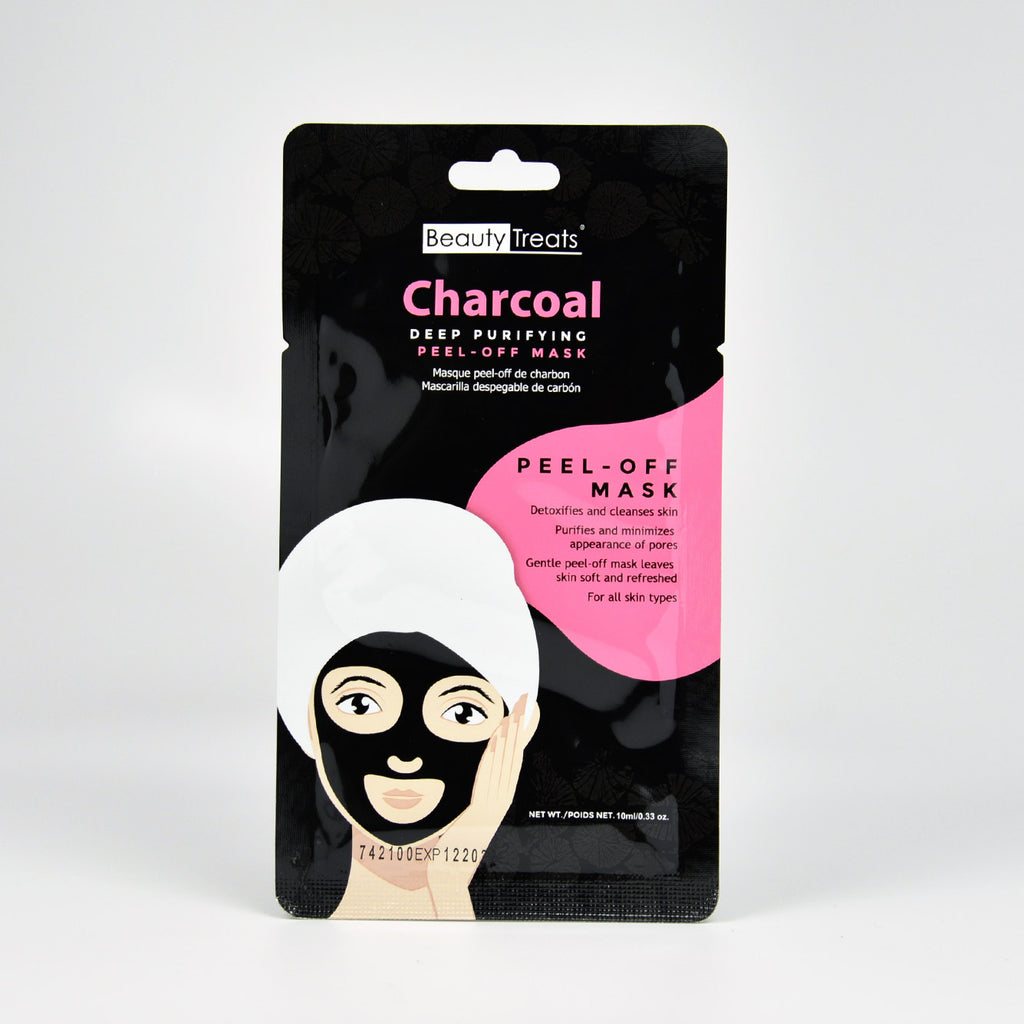 Beauty Treats Charcoal Deep Purifying Peel-Off Mask