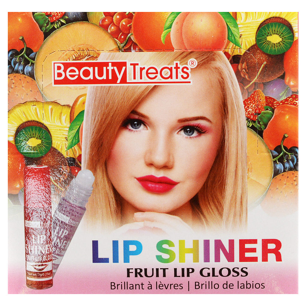 Beauty Treats Lip Shiner Fruit Lip Gloss - Cherry
